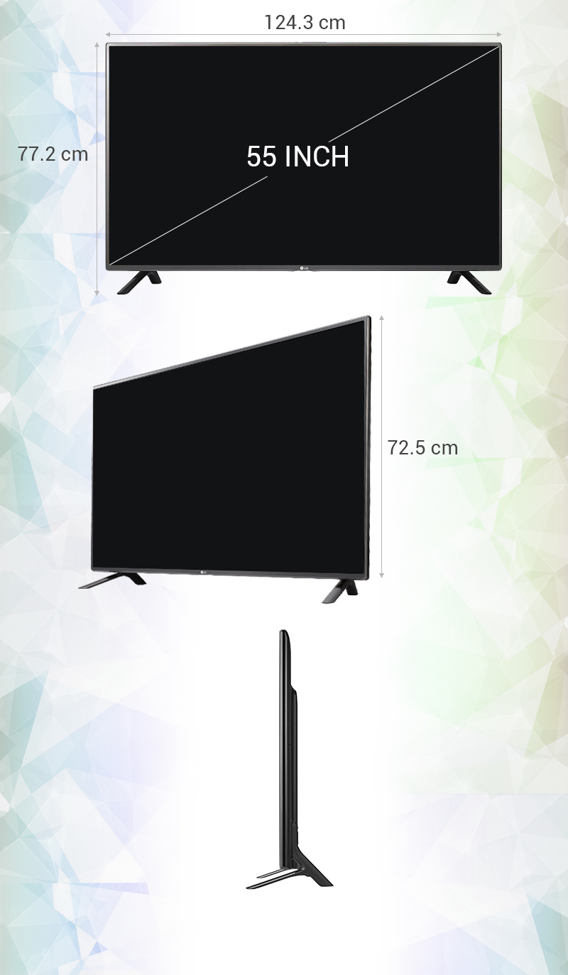Smart Tivi LG55 inch 55LF595T