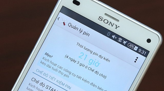 Điện thoại Sony Xperia Z3 Compact