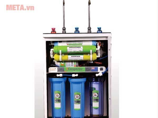 Máy lọc nước Kangaroo KG09A3 - 9 cấp lọc 2 vòi (Nóng - RO)