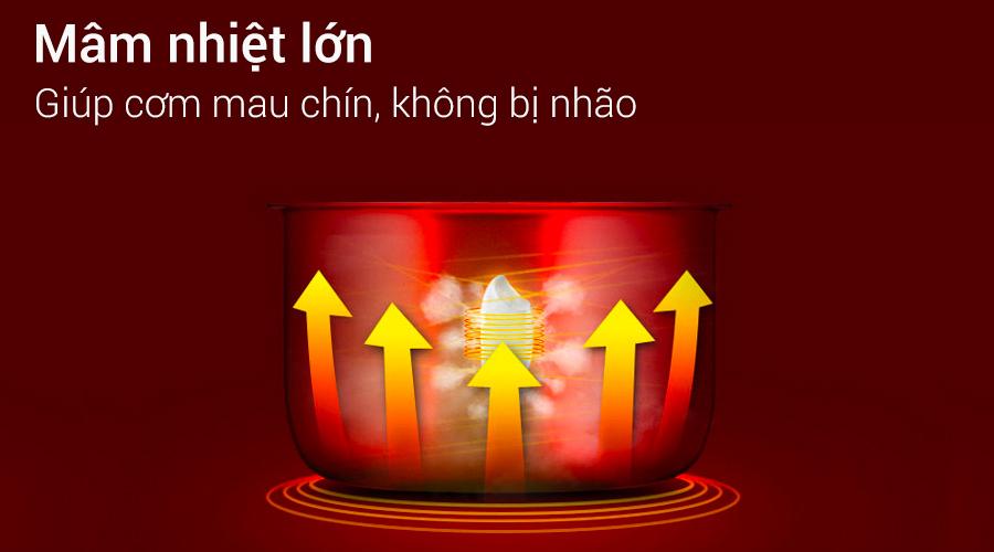 Nồi cơm điện Delites 1.8 lít NCG1801-02