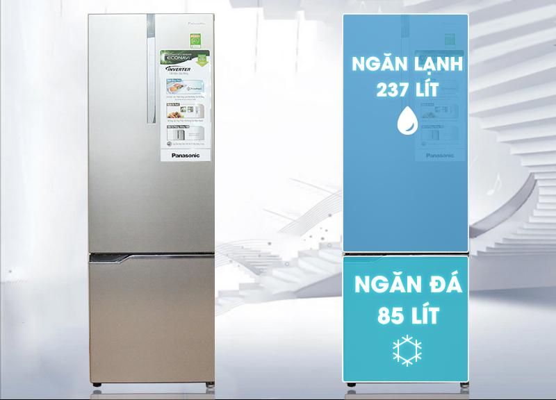 Tủ lạnh Panasonic 322 lít NR-BV368XSVN