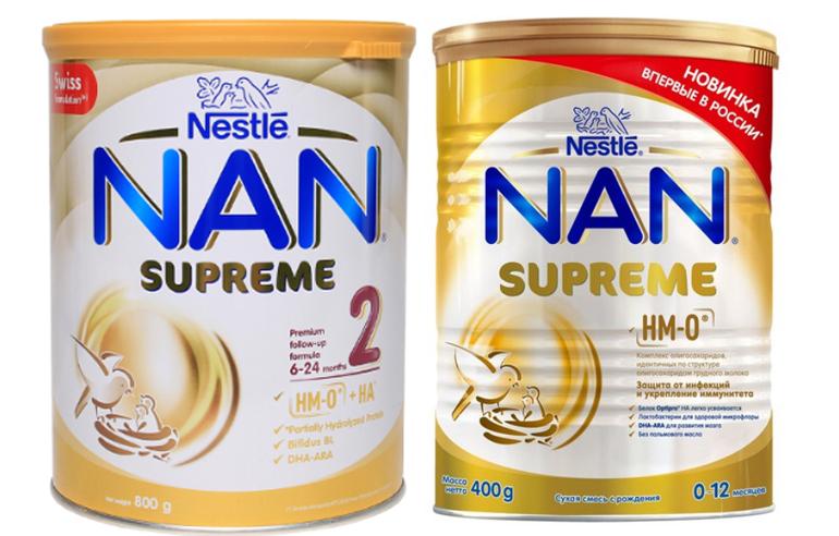 Có mấy loại sữa Nan Supreme 2 trên thị trường hiện nay?