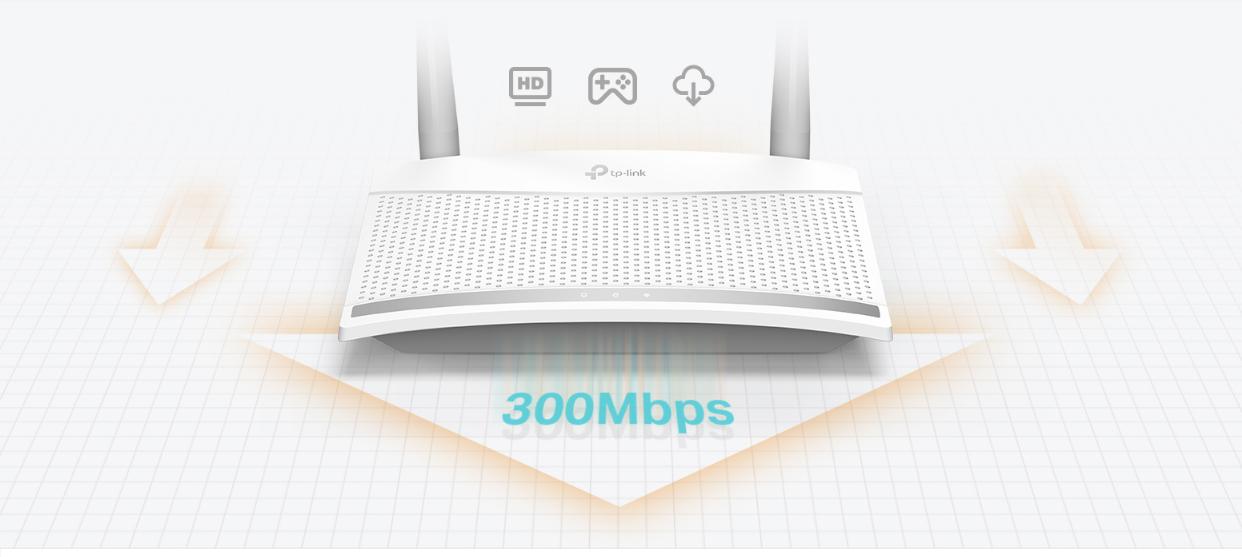 Bộ phát Wifi chuẩn N TP Link TL-WR820N 300Mbps