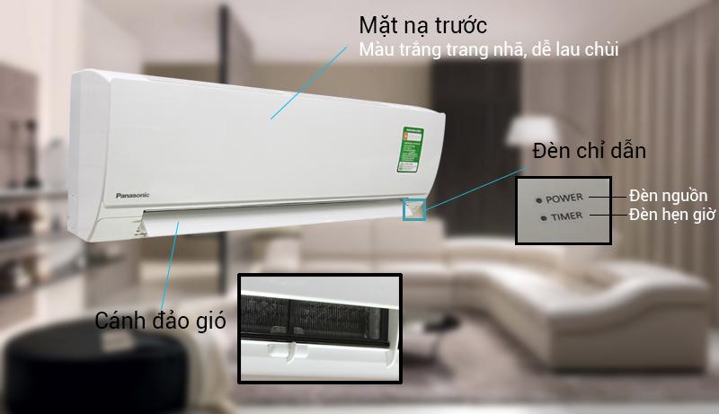 Máy lạnh Panasonic 1 HP CU/CS-KC9QKH-8