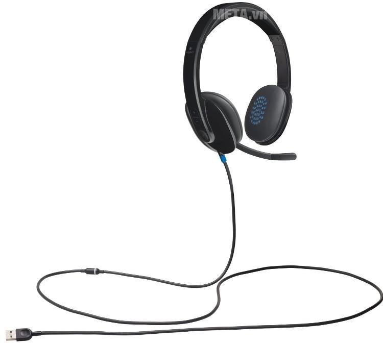 Tai nghe chụp đầu có mic Logitech H540