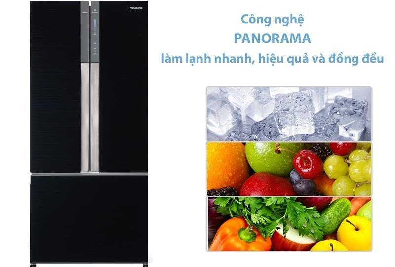 Tủ lạnh 3 cánh Inverter Panasonic NR-CY558GKV2 491 Lít