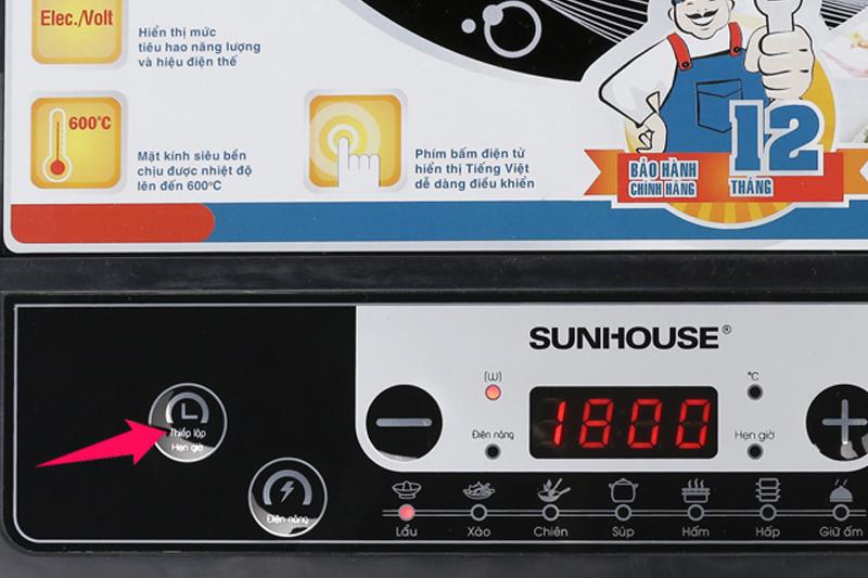 Bếp từ Sunhouse SHD6149