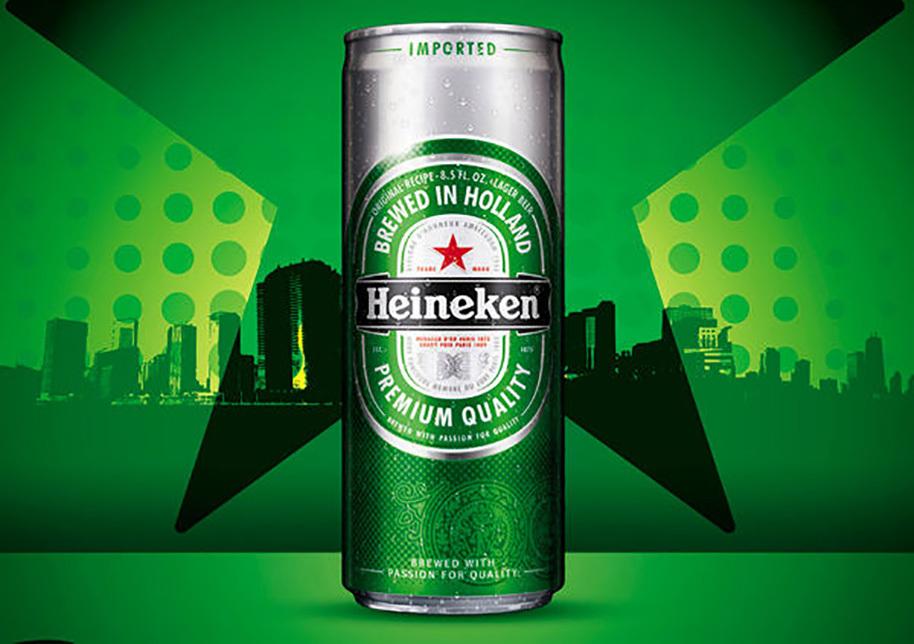 Bia Heineken thùng 24 lon x 330ml