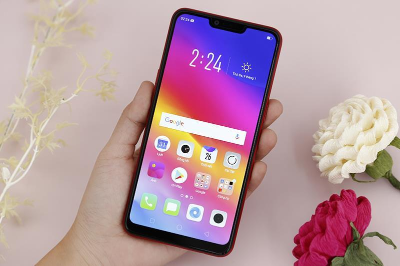 Điện thoại OPPO A3s 16GB Purple