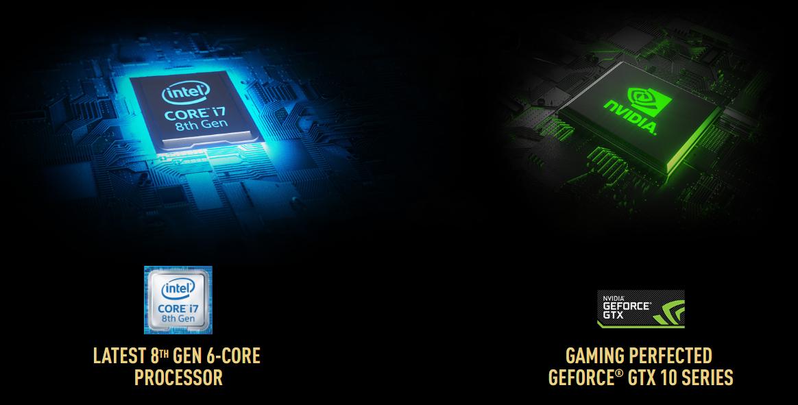 Laptop MSI GS65 Stealth 8RE-208VN (GeForce® GTX 1060, 6GB GDDR5,Win10)