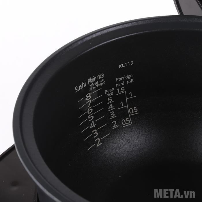 Nồi cơm điện tử cao tần Tiger JKL-T10W (1 lít)