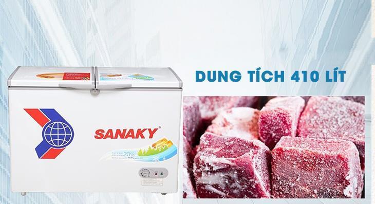 Tủ đông Sanaky 550 lít VH-5699HY, 1 ngăn đông