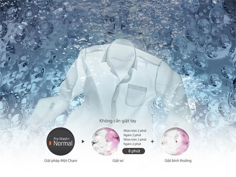 Máy giặt 13.5kg LG T2553VS2M Smart Inverter