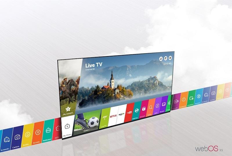 Smart Tivi LG 55 inch 55LJ550T
