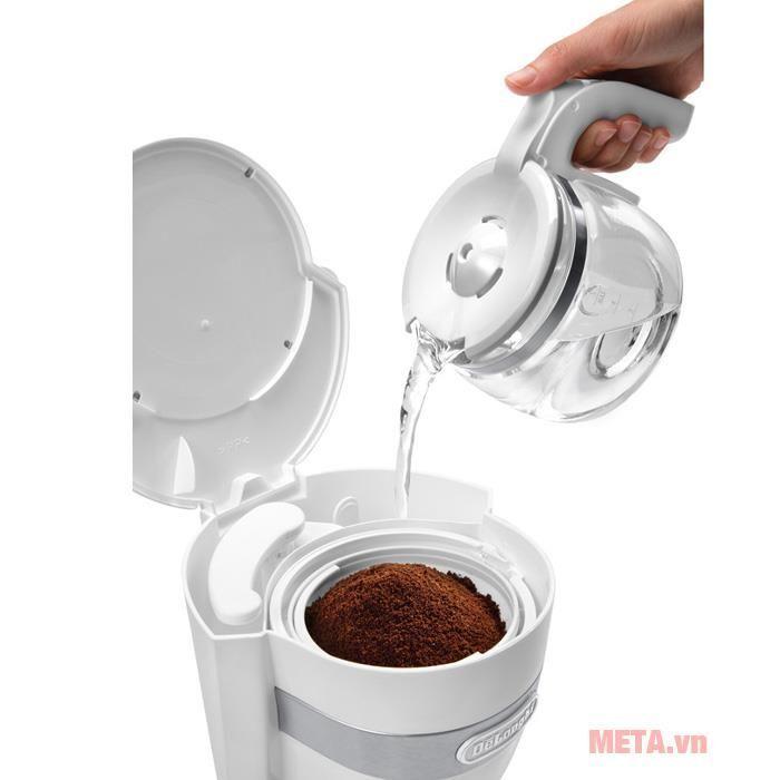 Máy pha cà phê Drip Delonghi ICM14011.W