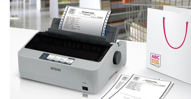 Máy in kim Epson LQ310 - In kim