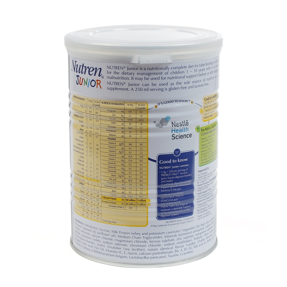 Sữa Nutren Junior 400g (1 - 10 tuổi)