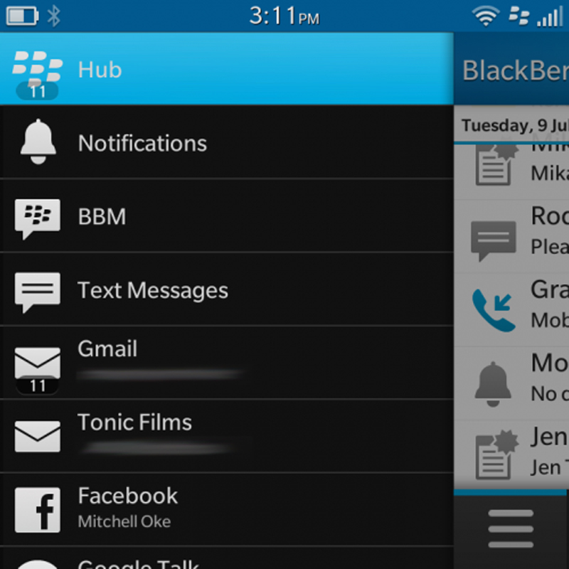 Điện thoại BlackBerry Q10