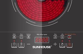 BẾP HỒNG NGOẠI SUNHOUSE SHD6007 2000W