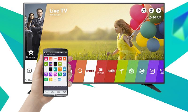 Smart Tivi LG 43 inch 43LH600T