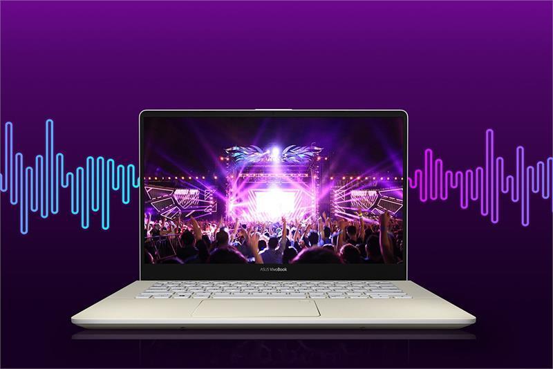 Laptop ASUS S430UA-EB100T XANH-VANG W10 /i3-8130U /4G /1T /14.0FHD