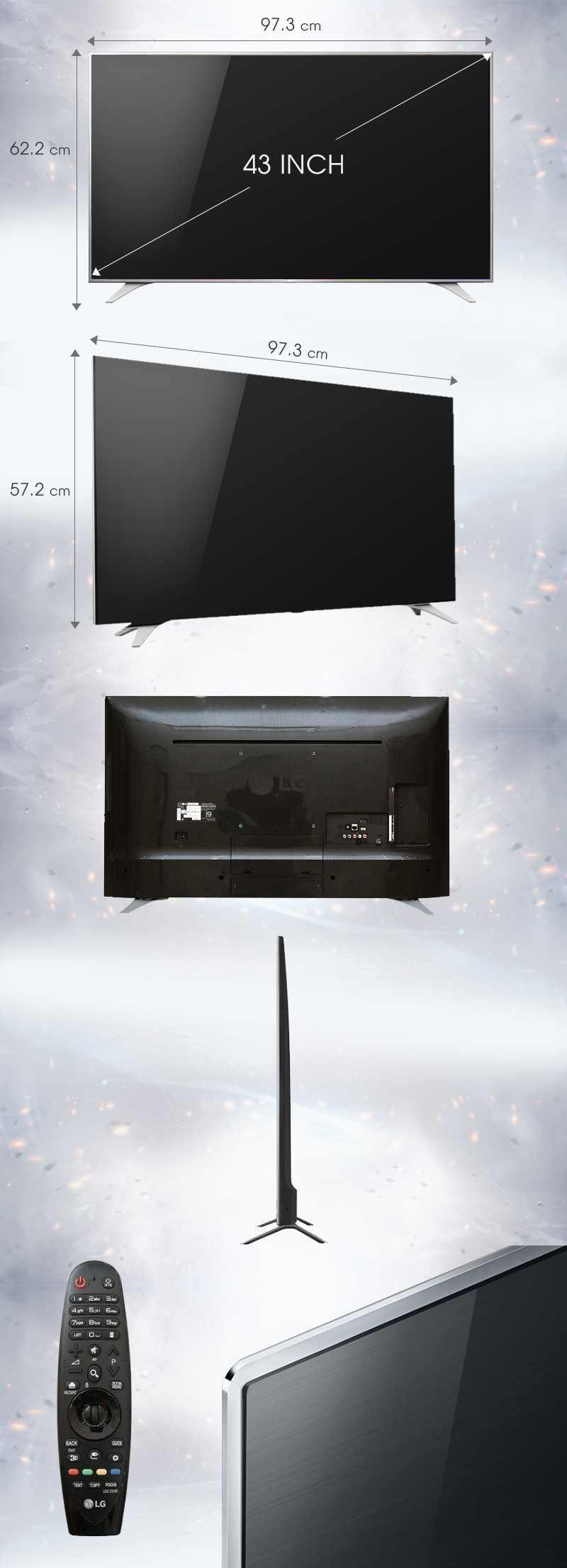 Smart Tivi LG 43 inch 43UH650T