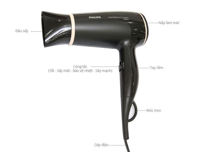 Máy sấy tóc Philips BHD004