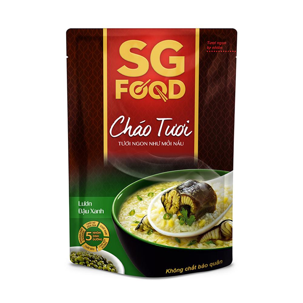 Cháo tươi Sài Gòn Food vị lươn đậu xanh 270g