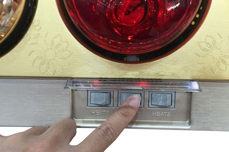 Đèn sưởi Kangaroo KG252A