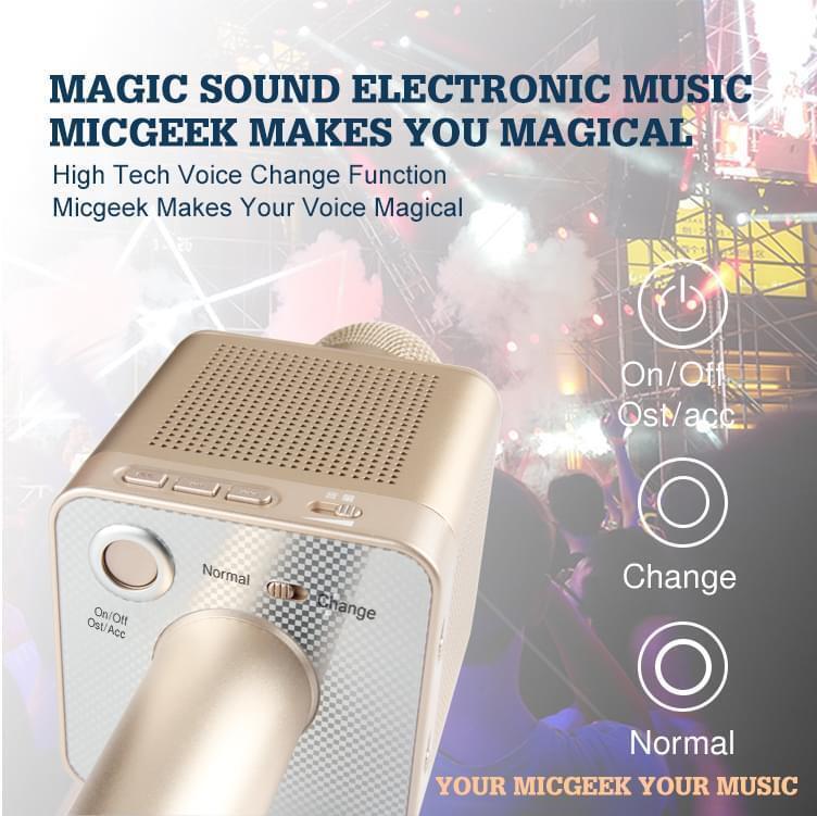 Mic Karaoke MICGEEK Q10S