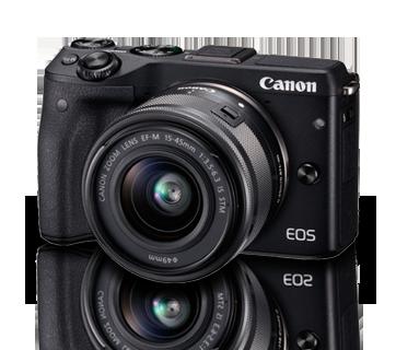 Máy ảnh Canon EOS M3 kit 15-45mm - WH