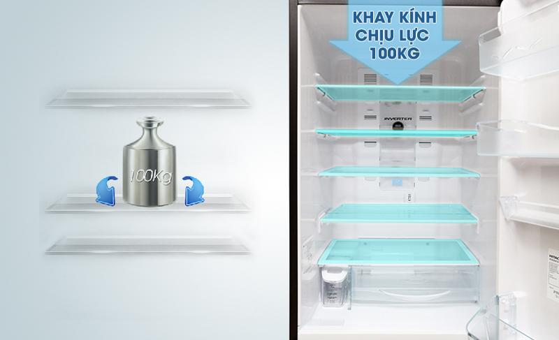 Tủ lạnh Hitachi 365 lít R-SG37BPG