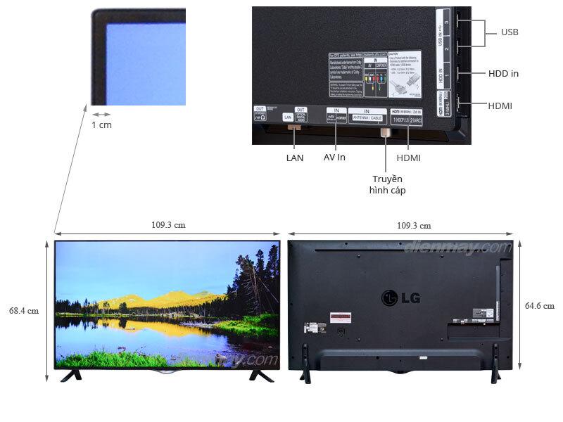 Smart Tivi LED LG 49UB820T 49 inch