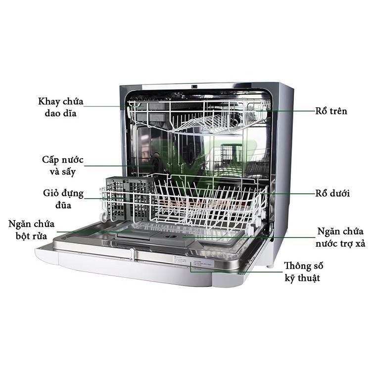 Những tính năng nổi bật của máy rửa bát Electrolux ESF6010BW