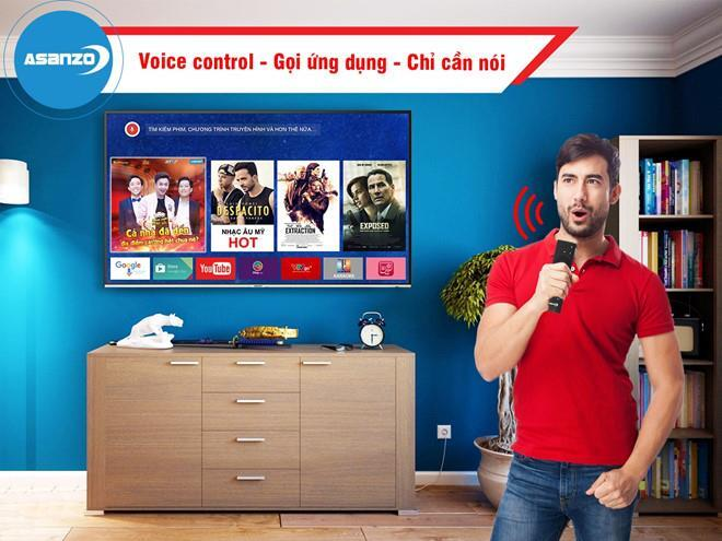 Smart Tivi Asanzo 32 inch 32VS9 Full HD, Android TV
