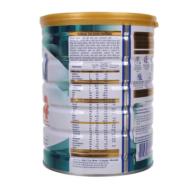 Sữa Nan Optipro 4 900g (2 - 6 tuổi)