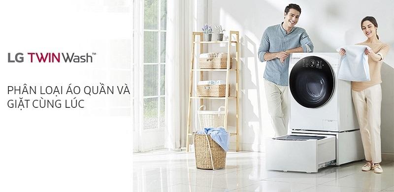 Máy giặt LG Twinwash FG1405S3W & TG2402NTWW