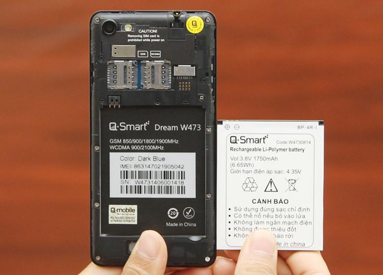 Điện thoại Q-Smart Dream W473
