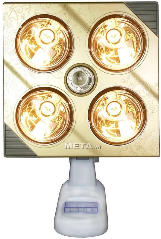 Đèn sưởi nhà tắm Kottmann 4 bóng K4B-G