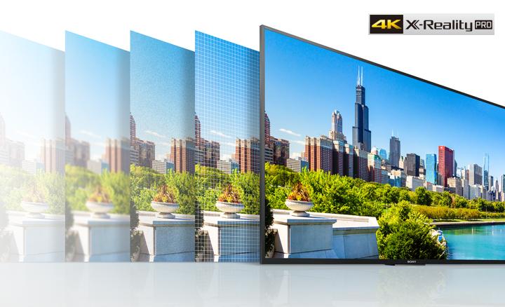 Smart Tivi Sony 4K 55 inch KD-55X8500E