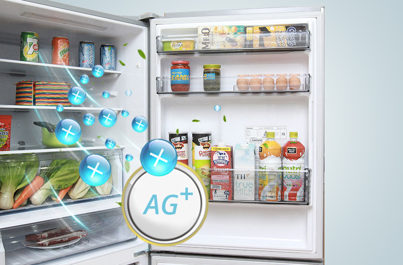 Tủ lạnh Panasonic 363 lít NR-BX418VSVN