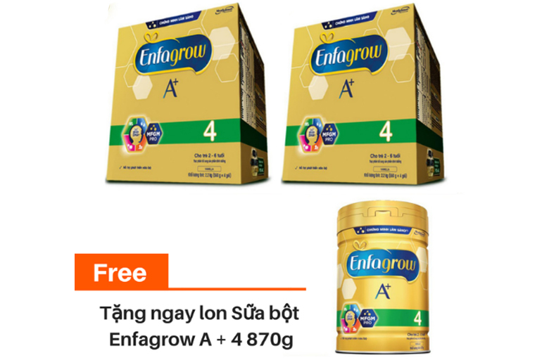 Sữa Enfagrow A+ 4 hộp giấy có gì đặc biệt mà được nhiều người tiêu dùng lựa chọn tới vậy?