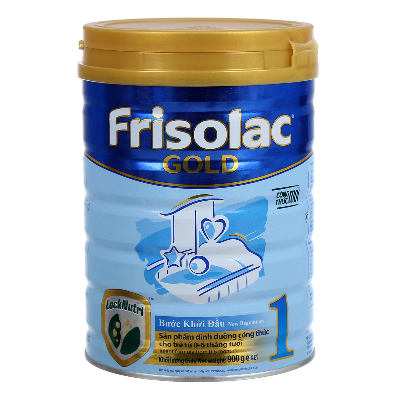 Sữa Frisolac Gold 1 900g (0 - 6 tháng)