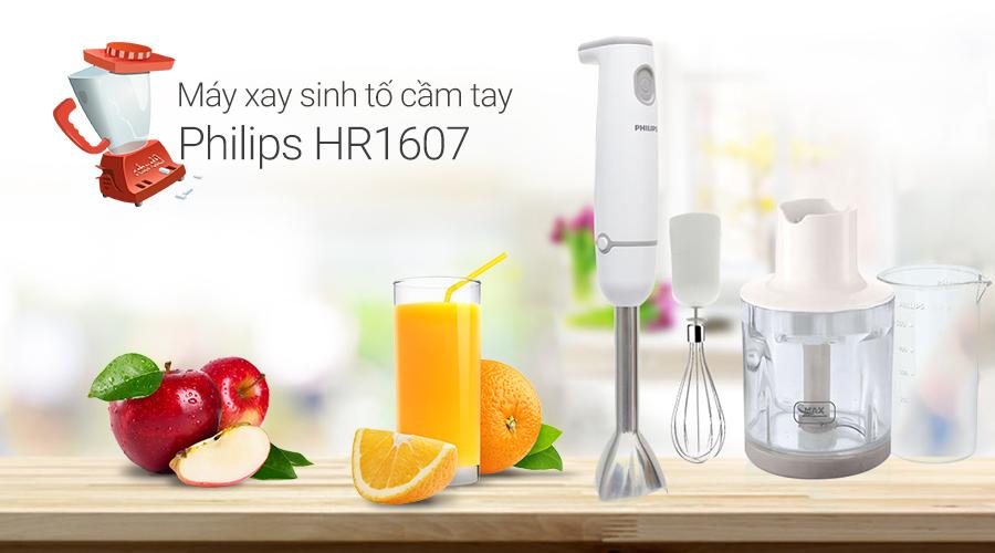Máy xay cầm tay Philips HR1607