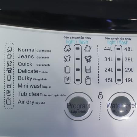 Máy giặt 7.2 Kg Midea MAS-7201 lồng đứng