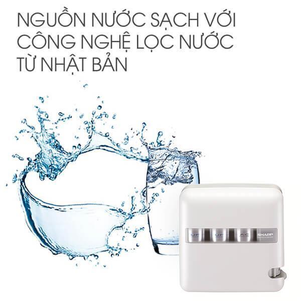 Máy lọc nước Sharp WJ-500-WH