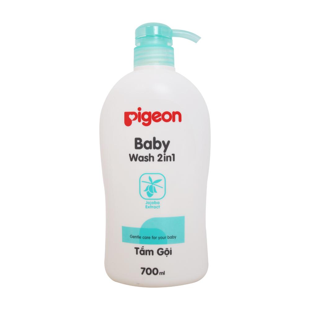 Tắm gội Pigeon 2 trong 1 tinh dầu Jojoba 700ml