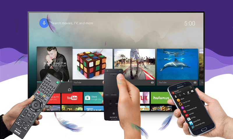 Android Tivi Sony 55 inch KD- 55X9000C