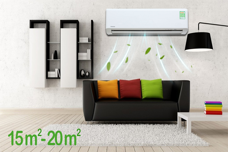 Máy lạnh Toshiba 1.5 HP RAS-H13S3KS-V