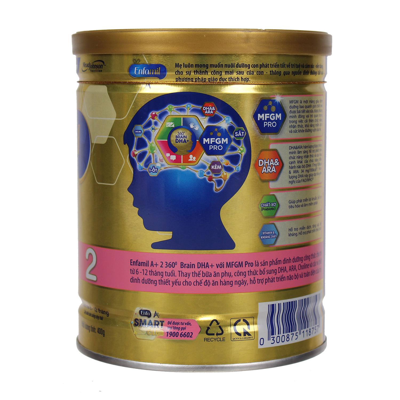 Sữa Enfamil A  2 400g (6 - 12 tháng)